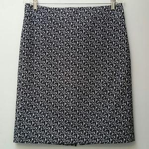 Ann Taylor floral skirt size 8